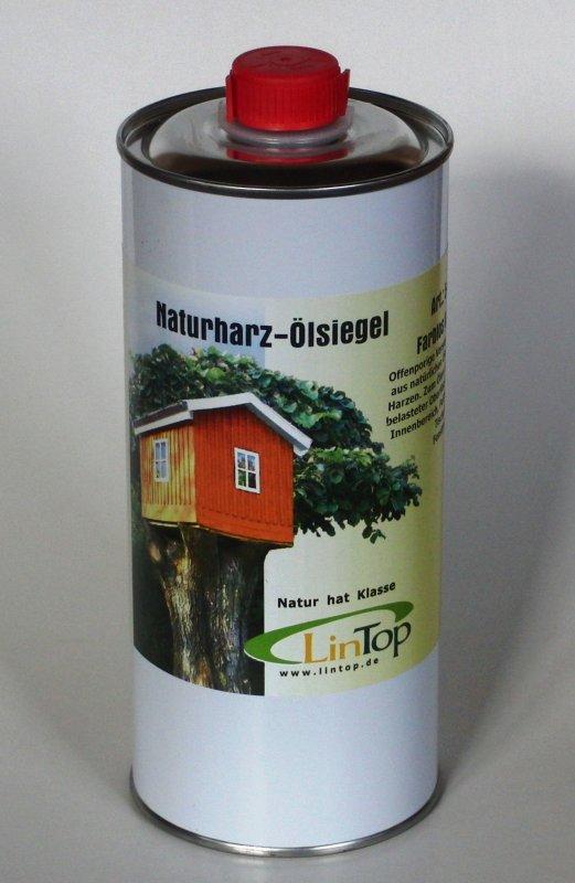 Naturharz-Ölsiegel